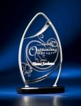 Pinnacle Satin Wired Clear Acrylic Award Religious Awards