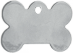 Stainless Steel Bone Shaped Pet Tag Street Tag Gifts
